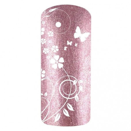 Vernis Gel UV Rose paillettes Glossy PROOF OF LOVE 1284
