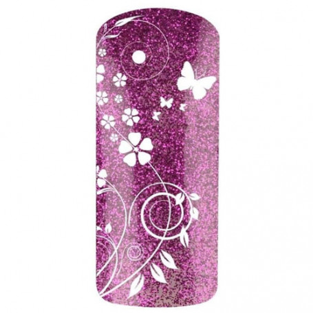 Vernis gel UV finition Glitter Violet SCREAMING PURPLE 7524