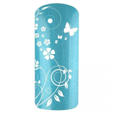 Vernis gel UV Bleu Lagon LAGUN 5612