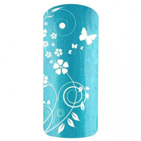 Vernis semi permanent Bleu turquoise PORQUEROLLES 2290