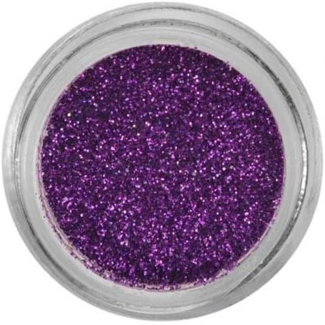 Poudres Paillettes Violet Lavande LANA Nail Art