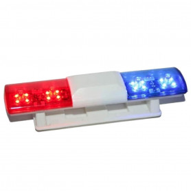 Gyrophare Modélisme, Rampe à LED Police Pilotable par Radiocommande