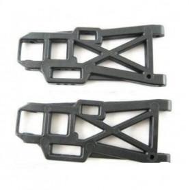 004-06012 - Rear Lower Suspension Arm (Left and Right) - 2 Bras de Suspension inférieurs Arrières HSP AMEWI Nylon