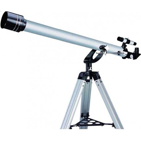 Télescope Débutant Réfracteur 900-60 avec 4 Oculaires + Lentilles + Filtre + Monture Azimutale + Trépied....