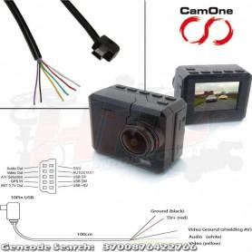Cable Infinity Power de Retour Vidéo pour compatibilité pr Action Cam CamOne / Ready GoPro