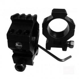 Système de Montage pour Lunette de Visée et Red Dots Diamètre 30mm