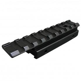 Rail adaptateur 11mm/21mm pour Lunette de Visée et Red Dots