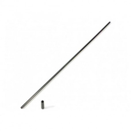 Z150, Tube Antenne Noir 30 cm + Capuchon pour Voiture RC Hpi racing