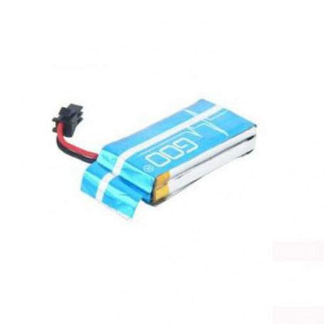 Batterie LiPo 7,4V 650mAh 2S 4,8Wh 25C pour drone Chaser DFD 183 et Jamara Catro