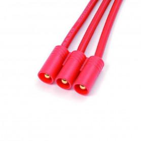 Connectique Or 3,5mm EC3 pin Cosse Femelle