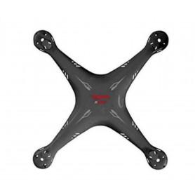 T5166/01A - Fuselage, Canopy ou Coque Noire pour Drone T2M Spyrit FPV - T5166