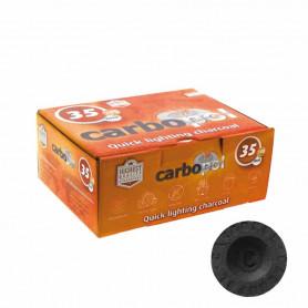 Carbopol 35mm 1 Boite complète de 10 x 10 sachets (100 charbons)