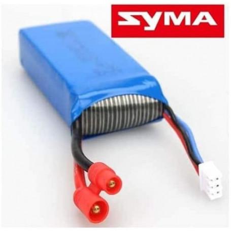 X8C-22, Batterie LiPo 2S 7,4V 2000mAh pr Drone X8C/X8HC/X8HG/X8G/X8W/X8HW/X48/Payload/Spyrit Max FPV/Megabird DMS200
