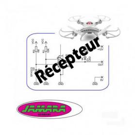 Récepteur, Carte électronique, Platine, PCB AHP pour drone Jamara Catro