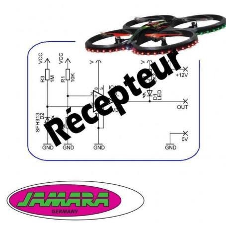 Récepteur, Carte électronique, Platine, PCB AHP pour drone Jamara Flyscout