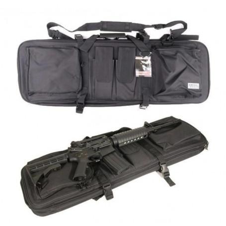 604061, Housse double rangements sac à Dos extensible pour 2 fusils de 85 à 120cm max