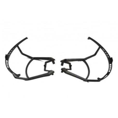 U842-1-06 ou RCU8421-06, Protections d'hélices par 2 Noires pour drone UDI RC LARK FPV U842-1