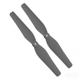 X8W-05B - Jeu de 2 Hélices dont Horaire et Anti Horaire Noires pour Syma X8, Ultradrone X48, Jamara Payload