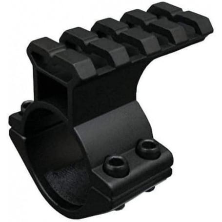 Collier de Fixation M02 Diamètre 30mm avec Rail Weaver Picatinny 21mm