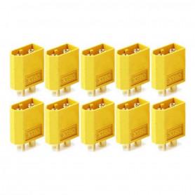 Connecteurs XT60 Male x10