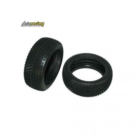 Lot de 2 pneus avec inserts ref 5600281075 Pour E-Performer et Performer GP