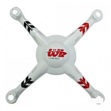 Fuselage Haut ref V686-03 pour drone V686K V686G Q222K Q222G WLToys