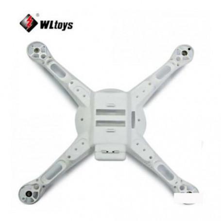 Fuselage bas V686-11 pour drone V686 V686K V686G Q222 Q222K Q222G WLToys