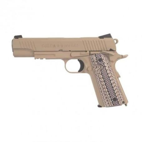 Colt 1911 M45A1 TAN Rail Gun - Full Metal - Blowback - 1,1 Joule