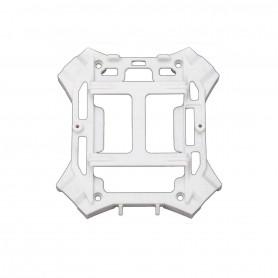 6624X, Main Frame Lower, Chassis Bas Blanc avec Visserie alias latrax