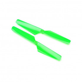 6631, Rotor Blade Set Green, Jeu de 2 Hélices Vertes alias latrax