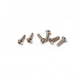 6643, Screws, Jeu de 6 vis 1,6mmx5mm à Tête Héxagonale aliax latrax