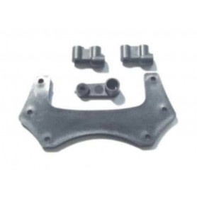 KB-61003 - Front Top Mount with Servo Arm and Servo Mount pour AM10B AMEWI, HBX, Branger Racing ou Redcat Racing