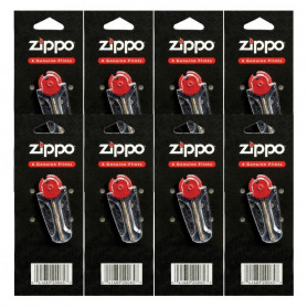 Pack de 10 x 6 Pierres à briquet Zippo Officielles, 60 pierres au total