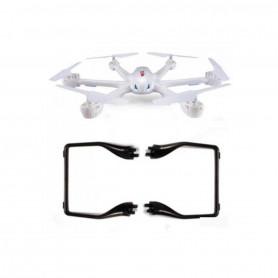 X600-20-21B - Landing Gear ou Train d'atterrissage Noir pour drone MJX X600