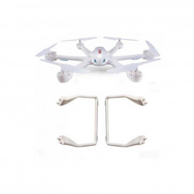X600-20-21W - Landing Gear ou Train d'atterrisage Blanc pour drone MJX X600
