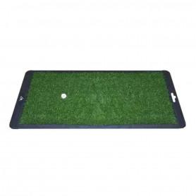 Golf Portable Lauch Mat, Tapis de Practice avec base anti-dérapante pour améliorer son Swing