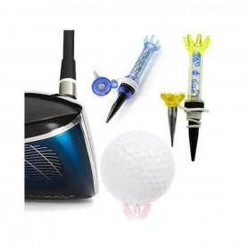 Magnetix Tees, 2 Tees de golf Magnétiques réutilisable avec retour de force