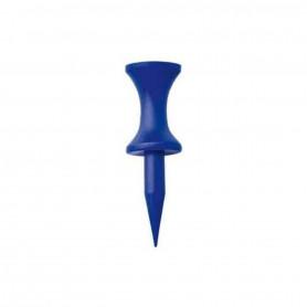 Castle Tees Plastique à étage Bleus 17mm pour les départs au Fer