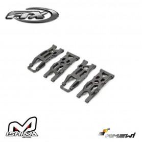 Triangles de suspensions FTX7204 Bas avant et arrière pour FTX Surge, Survivor ST et Ishima Blaster