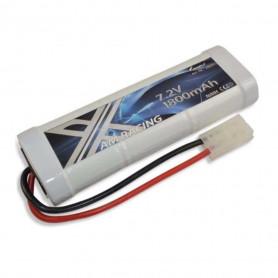 Batterie AMX Racing 7,2V 1800mAh NiMh avec connectique Tamiya