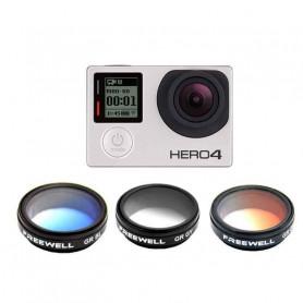 Pack de filtres gradués pour caméra GoPro Hero 4