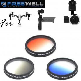 Kit de filtre couleur gradué pour Zenmuse X3 Osmo et Inspire 1