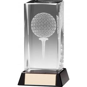 Trophée de golf à personnaliser soi même Lanark 3D 90mm