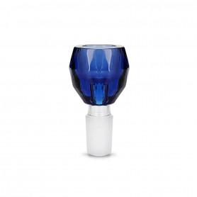 Douille en verre Grace Glass Bleue
