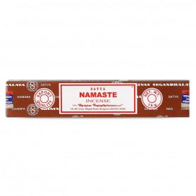 Encens indien relaxation Namaste Satya 1x (12 batons)