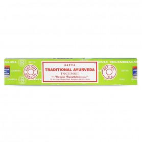 Encens indien médicinal Traditional Ayurveda Satya Sai Baba 1x (12 batons)