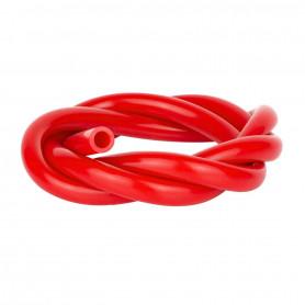 Tuyau silicone rouge 1m50