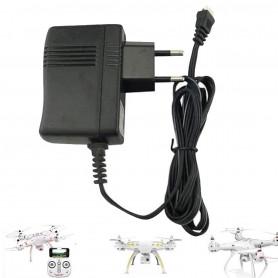 X8SW-08, Chargeur pour drone Syma X8SC, X8SW, X8 Pro, Payload GPS, T2M Spyrit EX T5180/T5181 et Pegasus