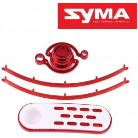 X8SW-17, bouton On Off et plaques pour drone Syma X8SW, X8SC, X8Pro, Payload GPS, T2M Spyrit EX T5180/T5181....