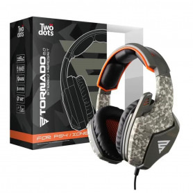 Casque gamer camouflage pour PS4 et Xbox One